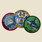 Ship Patches: Set of 3
